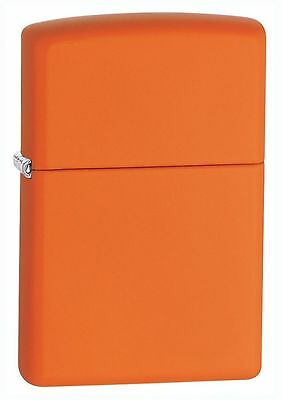 "Zippo ""Orange Matte"" Finish Lighter, Full Size,  231"