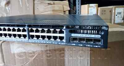 Cisco WS-C3650-24PD-S 24 10/100/1000 Ethernet PoE+ Switch