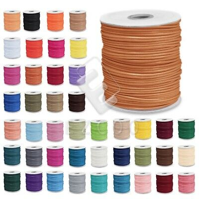1 Roll 170/80/40M Korea Polyester Waxed Cord Thread Beading Jewelry 1/1.5/2/3mm