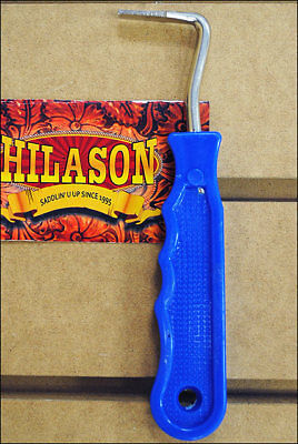 Royal Blue Hilason Horse Tack Zinc Plated Wire Hoof Pick Easy Grip Handle