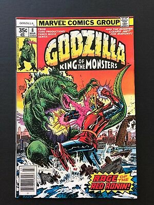Godzilla King Of The Monsters#8-HIGH GRADE-Marvel Comics-CHECK OUT MY STORE!