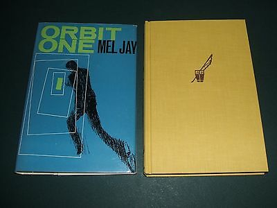 1966 1st edition in Dust Jacket of Orbit One by Mel Jay Arcadia House Vintage SF