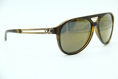 248cc9c339035 NEW VERSACE MOD. 4312 5141 87 Matte Black Aviator 60mm Sunglasses ...