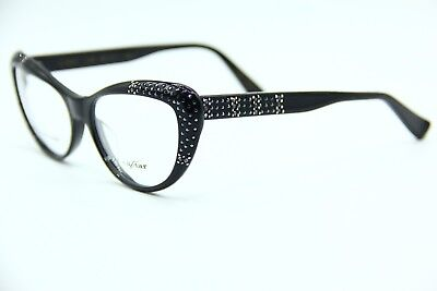 fbd98124d85 New Caviar M.9001 C24 Black Authentic Eyeglasses Frame Rx 55-17 W
