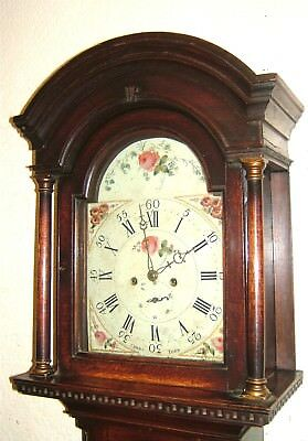 An early Georgian Oak 8 day Longcase Grandfather clock C1780