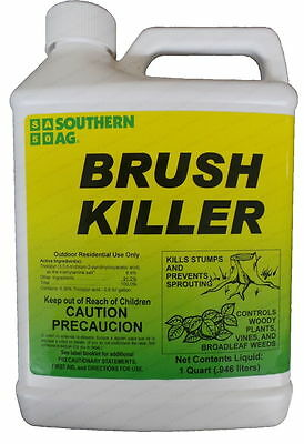 Brush Killer - (Generic Garlon) Triclopyr 8.8% Herbicide- 32 oz - Qt