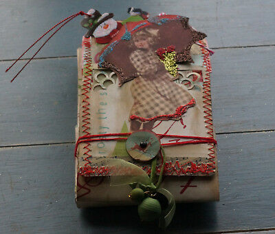 OOAK Hand Made Christmas Style Journal-Box.