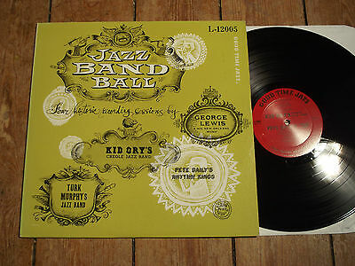 V/a - Jazz Band Ball - George Lewis / Turk Murphy / Pete Daily / Kid Ory -  Lp