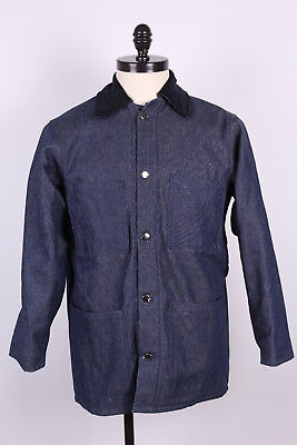 NOS Denim US Made Prison Yard Chore Jackets Qty Discount Available Size Sm-5XL
