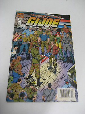 Marvel G.I.Joe comic book #155 Last issue in good shape