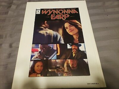 Comic Con Wynonna Earp Issue 1 Rare Exclusive Cover Of 500, Gift From Premiere