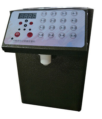 16 Grid Fructose Quantifier Bubble Tea Equipment Fructose Dispenser 110V