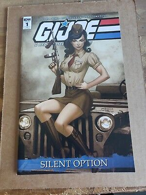 Gi Joe A Real American Hero Silent Option #1 Rich Variant Idw Comics