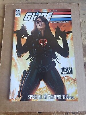 GI Joe #252 SDCC 2018 Adam Hughes Exclusive Variant Real American Hero IDW