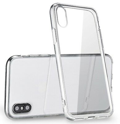 Apple iPhone X XS Case Silicone Clear Bumper Gel iPhone 10 10S Cover New