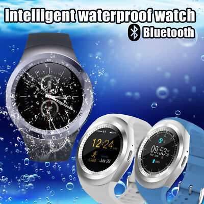 2018 Bluetooth Y1 Smart Watch Phone Mate For IOS Android W/Facebook Smartwatch