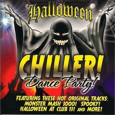 MONSTER MASH PARTY Music Audio CD Spooky Halloween Music 10 Songs