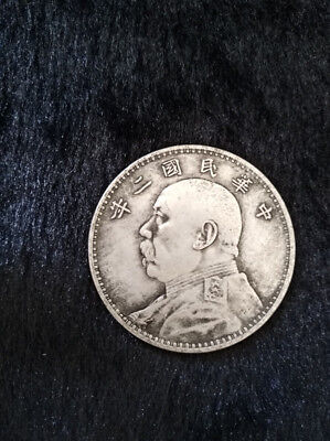 Collection Old Chinese Silver Dollar Yuan Shih kai 8years Coin 1919Years free