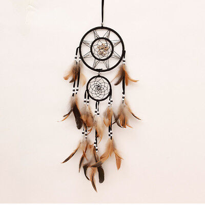 Fashion Dream Catcher With feathers Wall Hanging Decoration Decor Bead Ornament