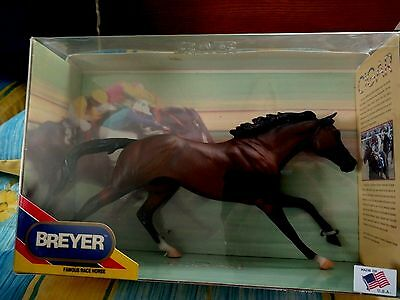 BREYER Cigar Famous Race Horse NIB/FREE SHIP IN USA-Traditional Mold # 476