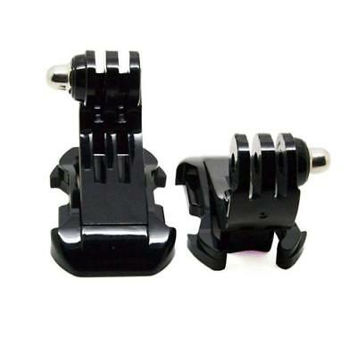 2x  J-Hook Buckle Vertical Surface Mount Adapter For GoPro HD Hero 4 1 2 3 3+