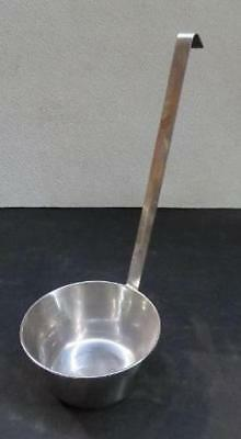 Large 36 oz Stainless Steel Ladle bowl cup dipper hook handle 32 ounce big
