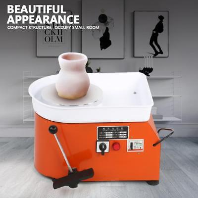 350W Electric Pottery Wheel Machine Ceramic Throwing Work Clay Shaping Tool