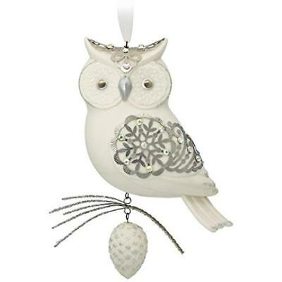 2017 Hallmark Premium Ornament Winter White Snow Owl - Limited Edition