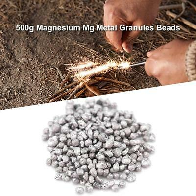 500g Magnesium Mg Metal Granules Beads Pellets Particle for Alloy Manufacture