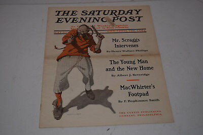 Original Antique May 20, 1905 The Saturday Evening Post Magazine - N.C. Wyeth
