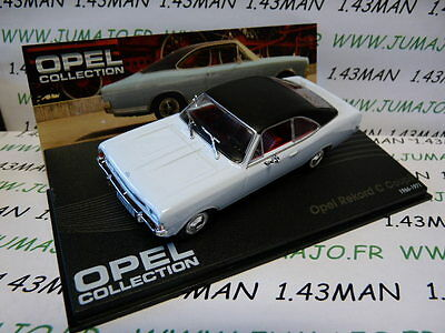 OPE74R voiture 1/43 IXO eagle moss OPEL collection : REKORD C Coupé 1966/1971