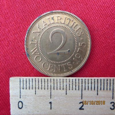 Mauritius - 2 Two Cents 1975