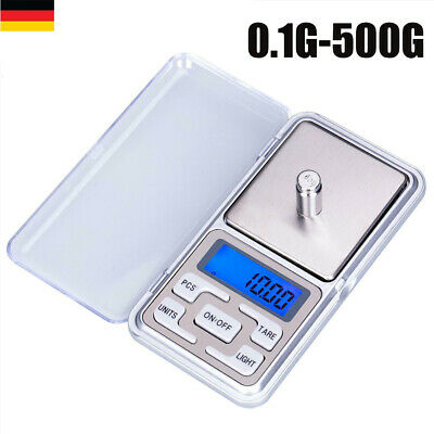 500g/0,1g Feinwaage Goldwaage Digital-waage Taschenwaage Präzisionwaage Scale