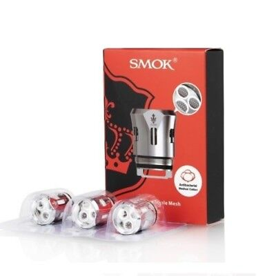 Smok V12 Prince Triple Mesh  Coils Pack Of 3 Authentic Uk Seller