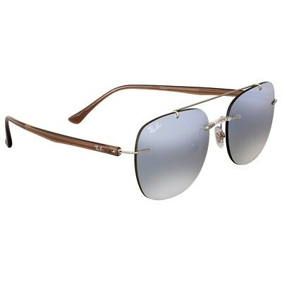 Ray-Ban RB4280 6290B8 Sunglasses Brown Frame and Silver Gradient Mirror Lenses