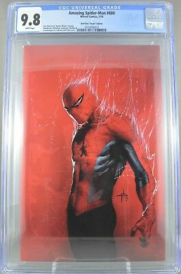 Amazing Spider-Man #800 CGC 9.8 NM+ Dell'otto Virgin Variant