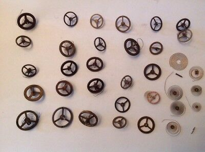 Clock Balance Wheels Good Selection From Clockmakers Spare Parts Collection