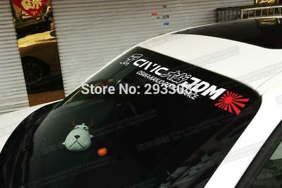 Car Stickers Front Windshield Whole Body Decals Waterproof Reflective Creative
