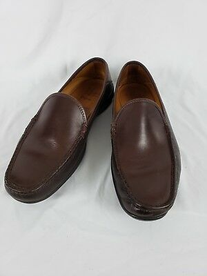 fa2ea5850f4 ALLEN EDMONDS CAVANAUGH Brown Leather Penny Loafers Dress Shoes Size ...