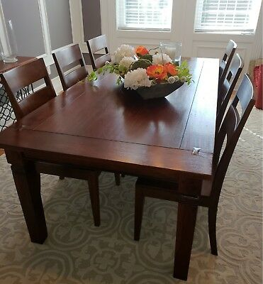 Crate And Barrel Basque Chairs Arhaus Dining Table