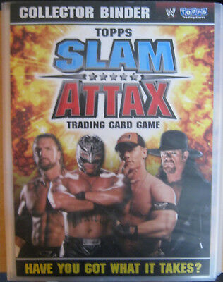 WWE WWF 2008 Topps Slam Attax Trading Card Set + LE Cards