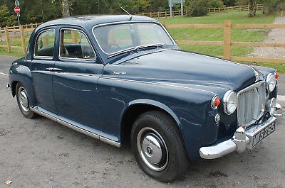 1961 Rover P4 100  2625cc With Overdrive Mileage 61,674 with supporting History