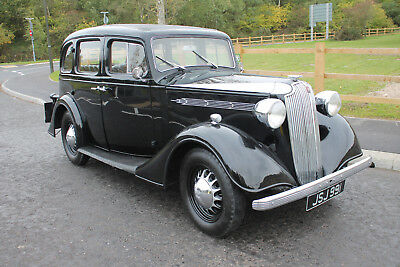 1937 Vauxhall 14 DX Saloon S2 Excellent Pre War Family Saloon