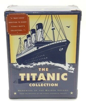 Nib ~ The Titanic Collection Mementos Of The Maiden Voyage Vintage 1998 Sealed