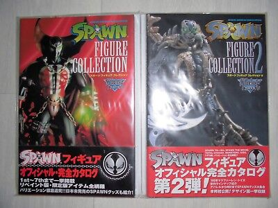 Spawn action figurine Mc Farlane photo book