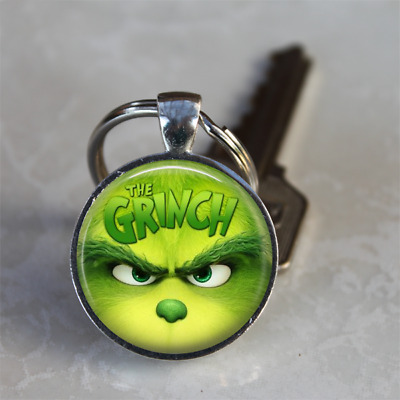 THE GRINCH WHO STOLE CHRISTMAS Keyring Keychain 2018 MOVIE STOCKING STUFFER GIFT