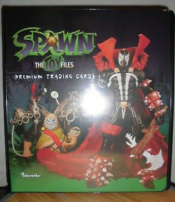 Classeur, binder, Spawn figurine Mc Farlane