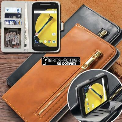 Flip Cover Stand Wallet Magnetic Leather Case For Various Motorola Smartphones