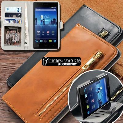 NEW PREMIUM LEATHER Flip Wallet Phone Case Cover For Xgody