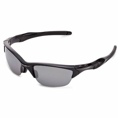 Oakley OO9153-1 Half Jacket Sunglasses Black Frame and Black Iridium Lenses